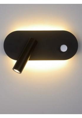 Corp de iluminat Float-olive negru